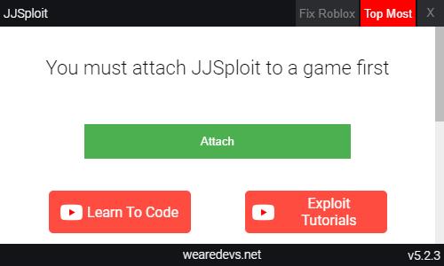 JJSploit home interface